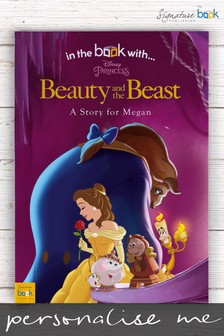Personalised Disney™ Beauty And The Beast Book by Signature Book Publishing