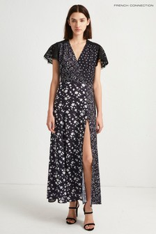 French Connection Blue Floral Maxi Dress
