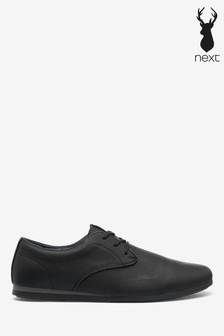 Derby Wedge Shoes