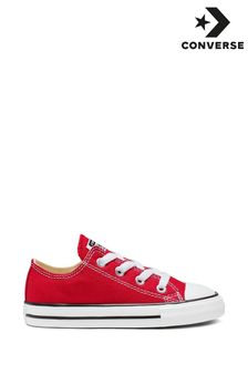 Baskets Converse Chuck Ox rouge bébé
