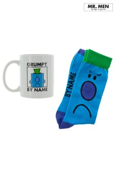 Mr Grumpy Mug And Socks Gift Set
