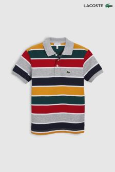 Lacoste® Pluvier Chine/Lighthouse Red Stripe Polo
