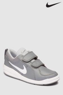 Nike Grey/White Pico Velcro