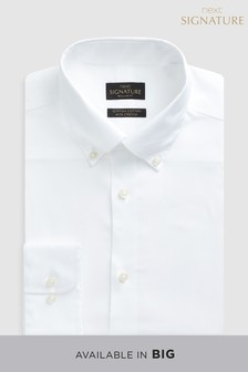 Signature Egyptian Cotton Stretch Button Down Shirt