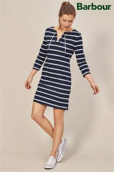 Barbour® Watergate Navy And White Stripe Dress