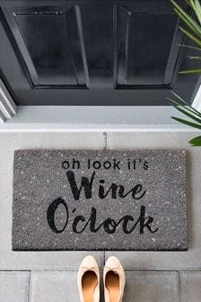Wine O'Clock Doormat