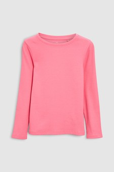 Skinny Long Sleeve Rib Top (3-16yrs)