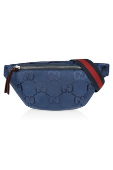 Kids Navy Nylon GG Bumbag