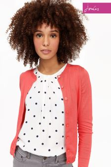Joules Red Skye Cardigan