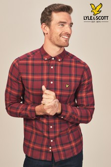 Lyle & Scott Red Check Flannel Shirt