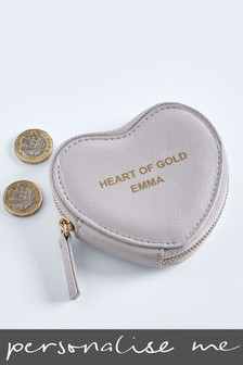 Personalised Heart Shaped Purse