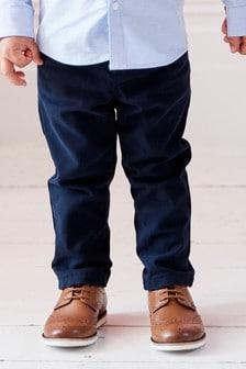 Pantaloni chino cu stretch (3 luni - 6 ani)