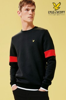 Lyle & Scott Tipped Crew Neck Sweatshirt