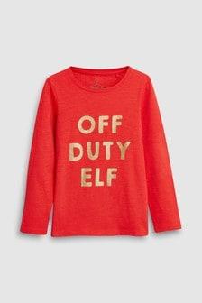 Christmas Long Sleeve T-Shirt (3-16yrs)