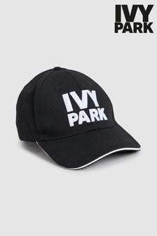 Ivy Park Black Logo Baseball Cap