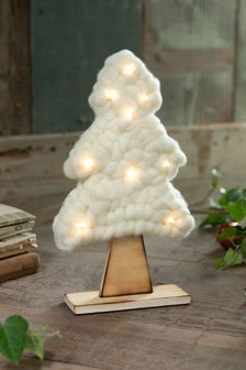 Lit Fabric Tree