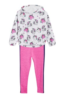 Unicorn Hoody And Leggings Set (3-16yrs)