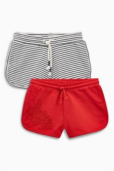 Crochet Shorts Two Pack (3-16yrs)