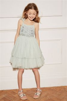 Embellished Tutu Dress (3-16yrs)