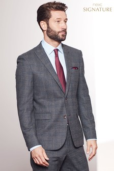 Luigi Botto Signature Check Suit