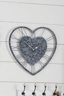 Vintage Effect Metal Wall Wall Clock