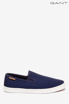GANT Navy Frank Slip-On Shoe