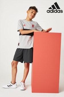 adidas Dark Grey Nemiziz Woven Short
