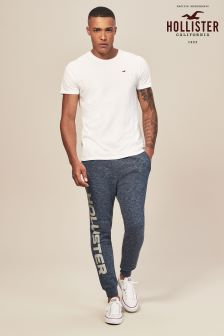 Hollister Navy Colourblock Jogger