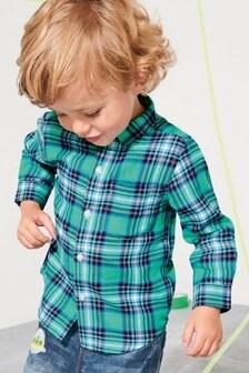 Check Long Sleeve Shirt (3mths-6yrs)