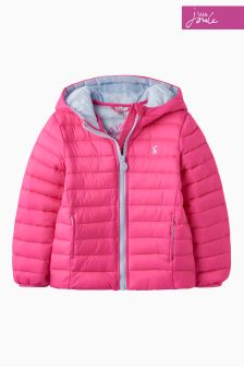 Joules Bright Pink Packaway Jacket