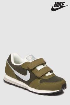 Nike Khaki MD Runner Velcro