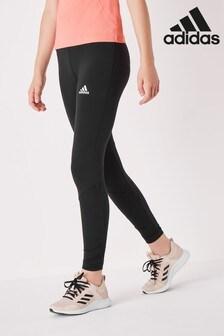 adidas Performance Black Ruched Leggings