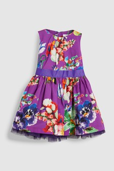 Floral Belted Prom Dress (3mths-6yrs)