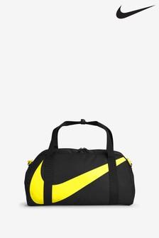 Nike Kids Gym Club Black/Yellow Duffel Bag