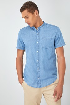 Рубашка c рисунком и коротким рукавом