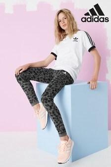 adidas Performance Grey/Spot Reversible Leggings