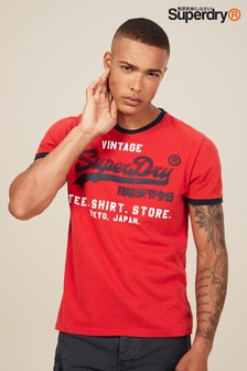 Superdry Shirt Shop Retro Ringer Tee