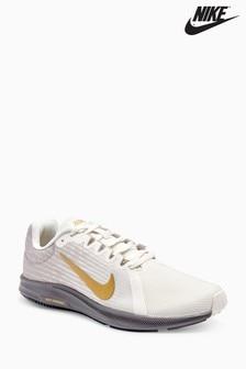 Nike Run Grey/Gold Downshifter