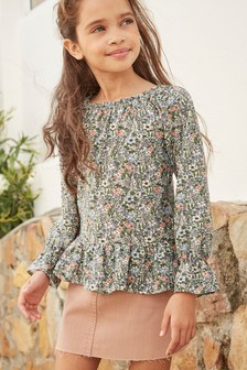 Long Sleeve Blouse (3-16yrs)