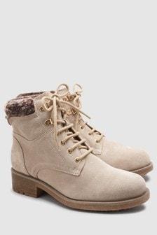 Signature Comfort Suede Hiker Boots