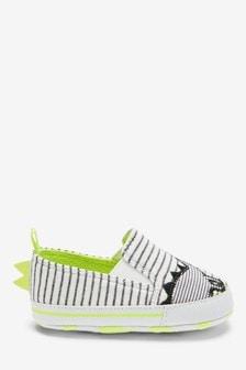 Baby-Slipper mit Dinosaurier-Design (0–24Monate)