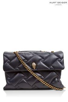 Kurt Geiger London Black Kensington Soft XXL Bag