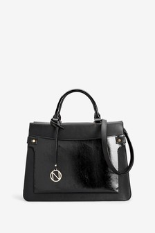 on feet shots of 100% genuine on sale Black Handbags | Black Clutch Bags | Next Official Site