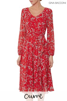 Buy Women s dresses Red Red Dresses Ginabacconi Ginabacconi from the ... d8d6c901e81