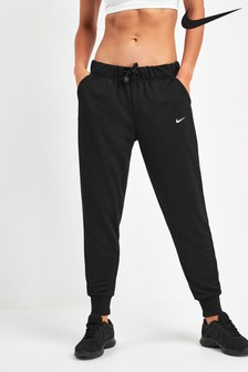 Nike Dri-FIT Get Fit Black Tapered Joggers