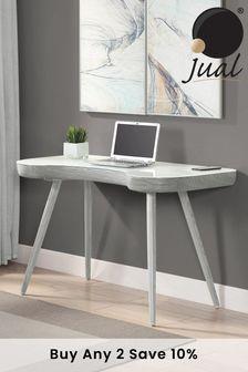San Francisco Grey Desk By Jual