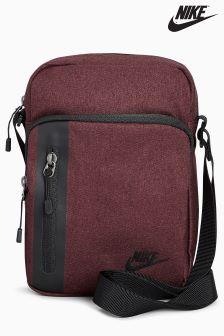 Nike Burgundy Tech Small Items Bag