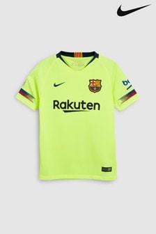 Nike Yellow FC Barcelona Tee