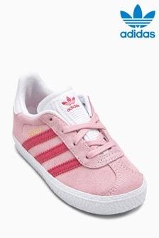 נעליים מסדרת Originals של adidas, דגם Gazelle בצבע ורוד