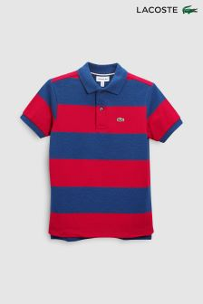 Lacoste® Sailor Chine/Lighthouse Red Stripe Polo